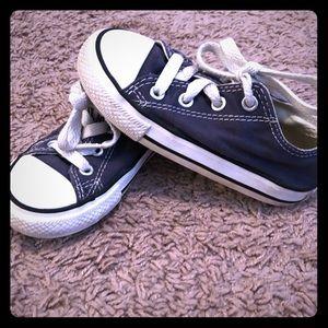 Navy Toddler Converse